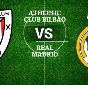 Futbol - Athletic Bilbao vs Real Madrid