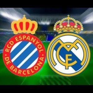 Futbol RCD ESPANYOL vs R.MADRID