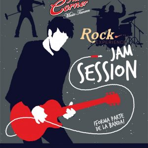 "Jam Session ""Con banda base Rock experience"""